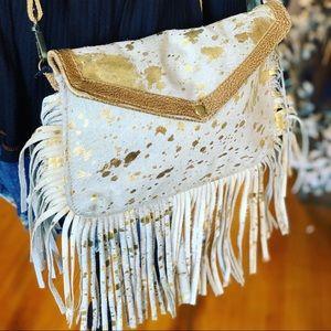 GOLDEN GIRL HAIRON BAG